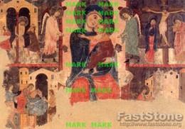 Spoleto - Santino Cartolina MADONNA CON BAMBINO (Artista Umbro, Sec. XIII) Museo Diocesano - PERFETTO P68 - Religione & Esoterismo