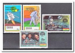 Ghana 1970, Postfris MNH, 1st Anniversary Of The First Manned Moon Landing - Ghana (1957-...)