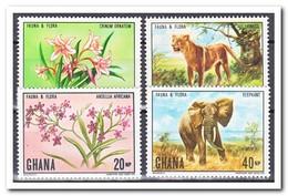Ghana 1970, Postfris MNH, Flora And Fauna - Ghana (1957-...)
