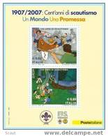 ITALIA - ITALIE - ITALY - 2007 - EUROPA CEPT - 100 ANNI SCOUTISMO - YT BF -- ** - Padvinderij