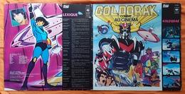 DISQUE - 33 T - FRANCE - GOLDORAK COMME AU CINEMA - HS RECORD - PRODUCTION TOEI ANIMATION - 1979 - Soundtracks, Film Music