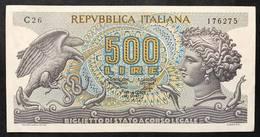 500 Lire Aretusa 1975 R3 Sup LOTTO 2167 - [ 2] 1946-… : Républic