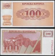 Slovenia P 6  - 100 Tolarjev 1990 - UNC - Slovenia