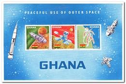 Ghana 1967, Postfris MNH, Space - Ghana (1957-...)