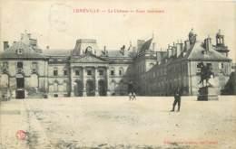 54 - LUNEVILLE - Le Château  - Cour Intérieur - Luneville