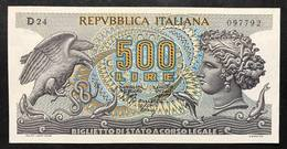500 Lire Aretusa 1970 Sup/fds LOTTO 2169 - [ 2] 1946-… : Repubblica