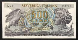500 Lire Aretusa 1970 Sup/fds LOTTO 2169 - 500 Lire