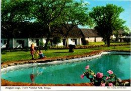 KENYA - Kilaguni Lodge , Tsaro National Park - Kenya