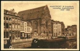 Netherlands: Maastricht - St. Josephkerk , Voormalige Augustijnerkerk  1931 - Maastricht
