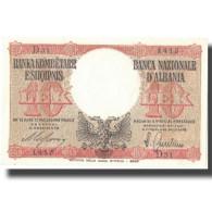 Billet, Albania, 10 Lek, 1940, 1940, KM:11, SPL+ - Albanie