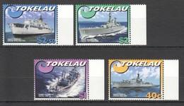 V1201 TOKELAU TRANSPORTATION SHIPS & BOATS 1SET MNH - Ships