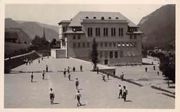 CPA  Suisse, STANS,  Kollegium St Fidelis Mit Spielplatz, Carte Photo 1937 - NW Nidwald