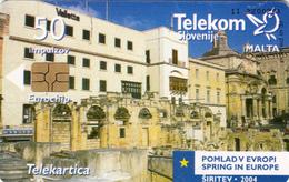 SLOVENIA SLOVENIJA PHONECARD 2004 MALTA  POMLAD V EVROPI SPRING IN EUROPE TELEKOM CAT.NO. 597 - Slovenia