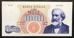 1000 Lire Verdi I° Tipo 04 01 1968 R2 RR Spl LOTTO 2172 - [ 2] 1946-… : République