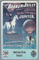 Telefoonkaart. PHONECARD. American Circus Posters. BARNUM & BAILEY. The Balloon Horse. JUPITER. 200 UNITS. - Telefoonkaarten
