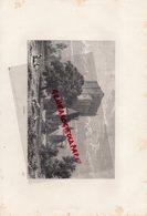 37 - LOCHES - GRAVURE 1885- - Gravures