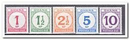 Ghana 1970, Postfris MNH, Porto Stamps - Ghana (1957-...)