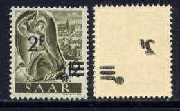 SARRE - 219** -  MINEUR - 1947-56 Protectorate