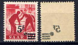 SARRE - 222** -  FORGERON - 1947-56 Protectorate