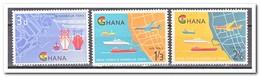 Ghana 1962, Postfris MNH, Inauguration Of The New Port Of Tema - Ghana (1957-...)