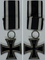 1411 Preußen, Eisernes Kreuz 2. Klasse, Ausgabe 1914, Mit Band, Zustand II., Katalog: OEK1909 II - Army & War