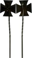 1446 PREUSSEN, Miniatur Eisernes Kreuz, Ausgabe 1914, 2. Klasse, An Nadel, Zustand III.  III - Army & War