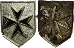 1457 Jungdeutscher Orden, Abzeichen Der Ordensschwestern, 1. Form, Lackiert., Katalog: Hns.4122b III - Army & War