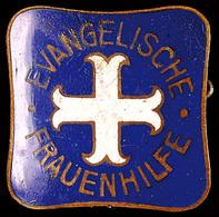 1481 Evangelische Frauenhilfe, Mitgliedsabzeichen 5. Form, 22mm., Katalog: Hns.9110f III - Army & War