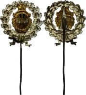 1487 Bund Deutscher Militäranwärter (BDMA), Silberne Ehrennadel Für 10jährige Mitgliedschaft., Katalog: Hns.9611c III - Army & War