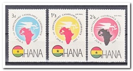 Ghana 1962, Postfris MNH, 1st Anniversary Of The Cassablanca Conference - Ghana (1957-...)