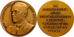 1502 Reichssportamt, Medaille Des Reichssportführers, O.J., Für Hervorragende Leistungen Gegeben Vom Reichssportführer,  - Army & War