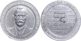 1503 Blutsonntag, Aluminium Medaille, O.J., Zur Erinnerung An Den Blutsonntag In Striegau 26.10.24, Av: Brustbild Haupta - Army & War