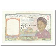 Billet, FRENCH INDO-CHINA, 1 Piastre, Undated (1946), KM:54c, NEUF - Indochine