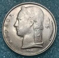 Belgium 5 Francs, 1980 Legend In Dutch - 'BELGIE' - 03. 5 Francs