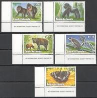 V1224 1993 COOK ISLANDS FAUNA ENDANGERED WILDLIFE ANIMALS 1SET MNH - Stamps
