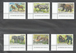 V1226 1992 COOK ISLANDS FAUNA ANIMALS 1SET MNH - Stamps