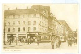 Vintage, Germany, Kassel. Animated Street View Pc, Trams Etc. Real Photo Pc, Unused. - Kassel