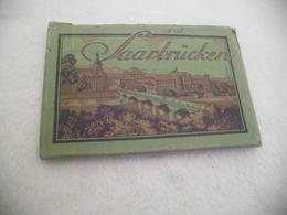 CARNET DEPLIANT DE 8 CARTES ...DE SAARBRUCKEN - Saarbruecken