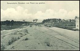 """3633 Ansichtskarte """"Kamerunbahn, Banoberi, Vom Flusse Aus Gesehen."""", Ungelaufen, Gute Erhaltung  BF - Kolonie: Kamerun"""