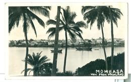 1937, Africa, Kenya, Mombassa, View From Mainland. Real Photo Pc, Used. - Kenya