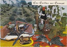 RECETTE DE CUISINE Emilie Bernard N° 118 Les Cailles Sur Canapé - Recipes (cooking)