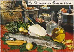 RECETTE DE CUISINE Emilie Bernard N° 75 Le Brochet Au Beurre Blanc - Recipes (cooking)