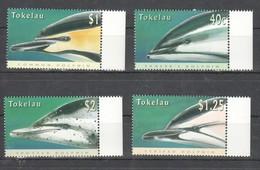 V1247 TOKELAU MARINE LIFE DOLPHINS 1SET MNH - Dolphins