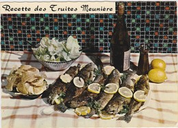 RECETTE DE CUISINE Emilie Bernard N° 38 Recette Des Truites Meuniere - Recipes (cooking)