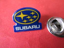 PIN'S    LOGO  SUBARU - Badges