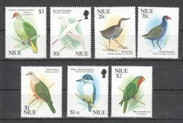 V1255 NIUE FAUNA BIRDS  !!! MICHEL 22 EURO !!! 1SET MNH - Birds