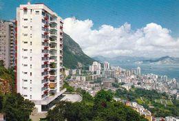1 AK Hongkong * View Of Western District And Harbour - Luftbildaufnahme * - China (Hongkong)