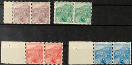5822 Französische Kriegswitwen Und Waisen 2 C. Und 3 C. Bis 25 C. Und 15 C. Kpl. Tadellos Postfrisch. Im Linken Rand Ode - Monaco