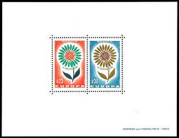 5828 1964, Sonderdruck In Blockform, 0,25 Und 0,50 Fr. Europa, Tadellos Postfrisch, Diese Sonderdrucke Waren Nicht Frank - Monaco