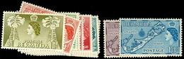 6054 Freimarken Ohne Nr. 139 Kpl. Tadellos Postfrisch, Dazu Nr. 153/54, Mi. 140,--, Katalog: 130/47 ** - Bermuda